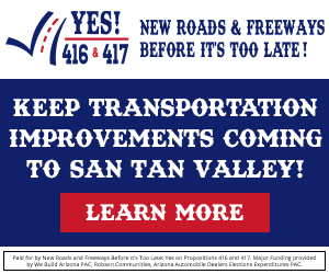 Keep Transportation Improvements coming in San Tan Valley